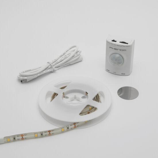 LED szalag mozgásérzékelővel, akkus (100 cm)