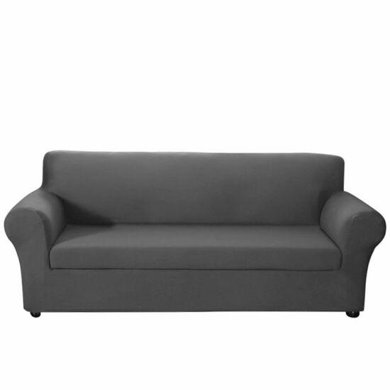 Háromszemélyes kanapévédő (szürke)