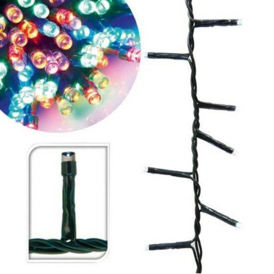 120 LED-es karácsonyi fényfüzér (8 mozgó beállítással, színes)