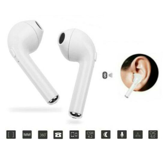 HBQ-i7 TWS vezeték nélküli fülhallgató és headset