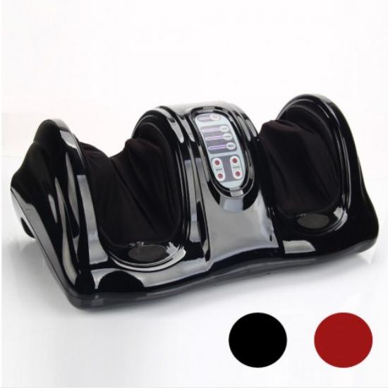 Elektromos lábmasszírozó távirányítóval (fekete)