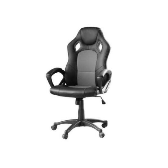 Gamer szék BASIC (szürke)