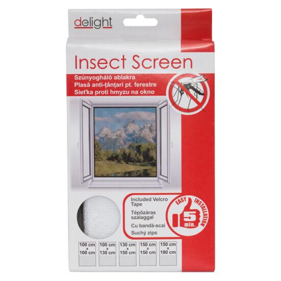 Szúnyogháló ablakra (100x100 cm)